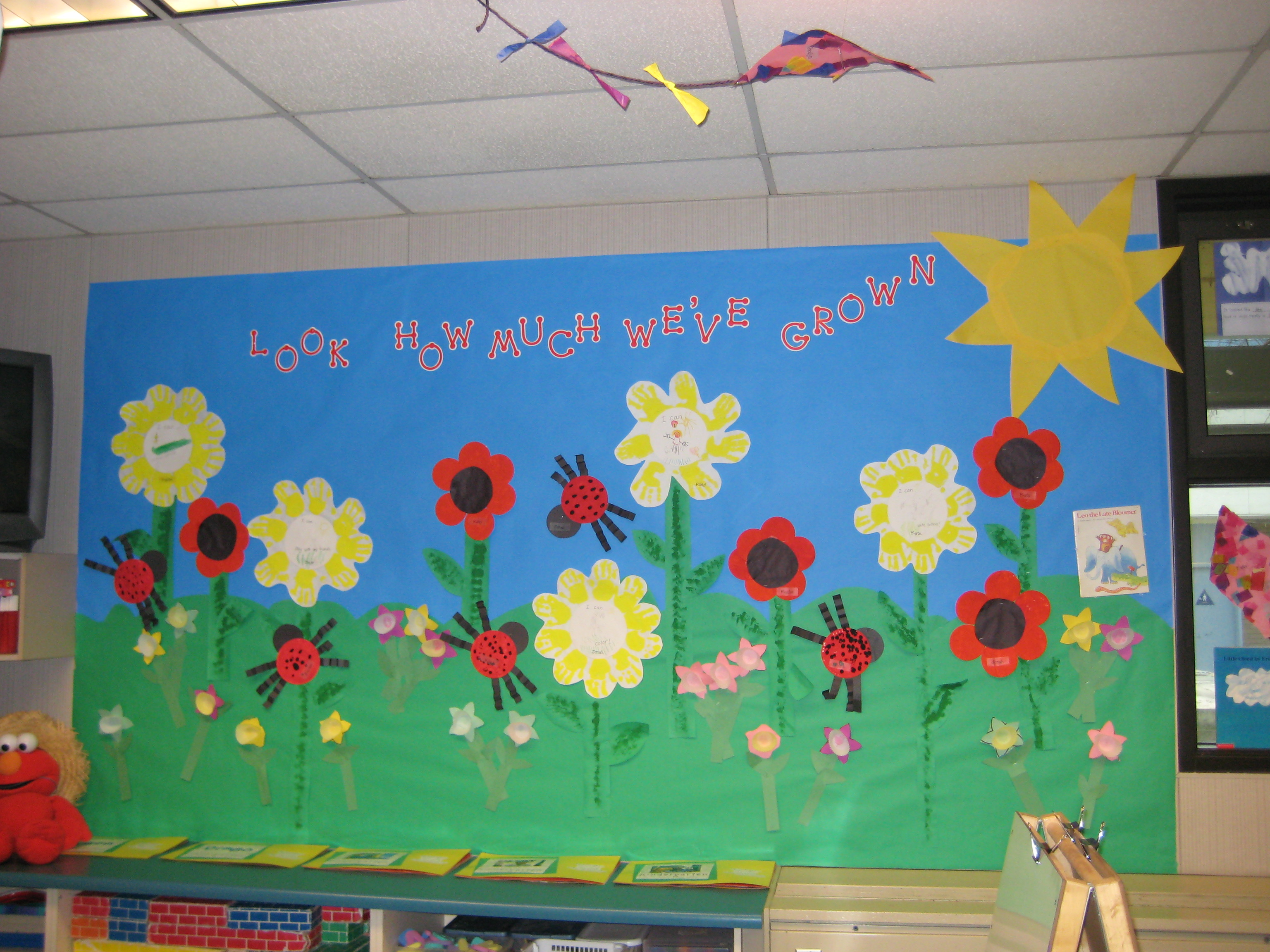 Look How Much We've Grown! Bulletin Board