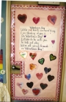 This was the door decoration from my first grade classroom in Feb. 2006