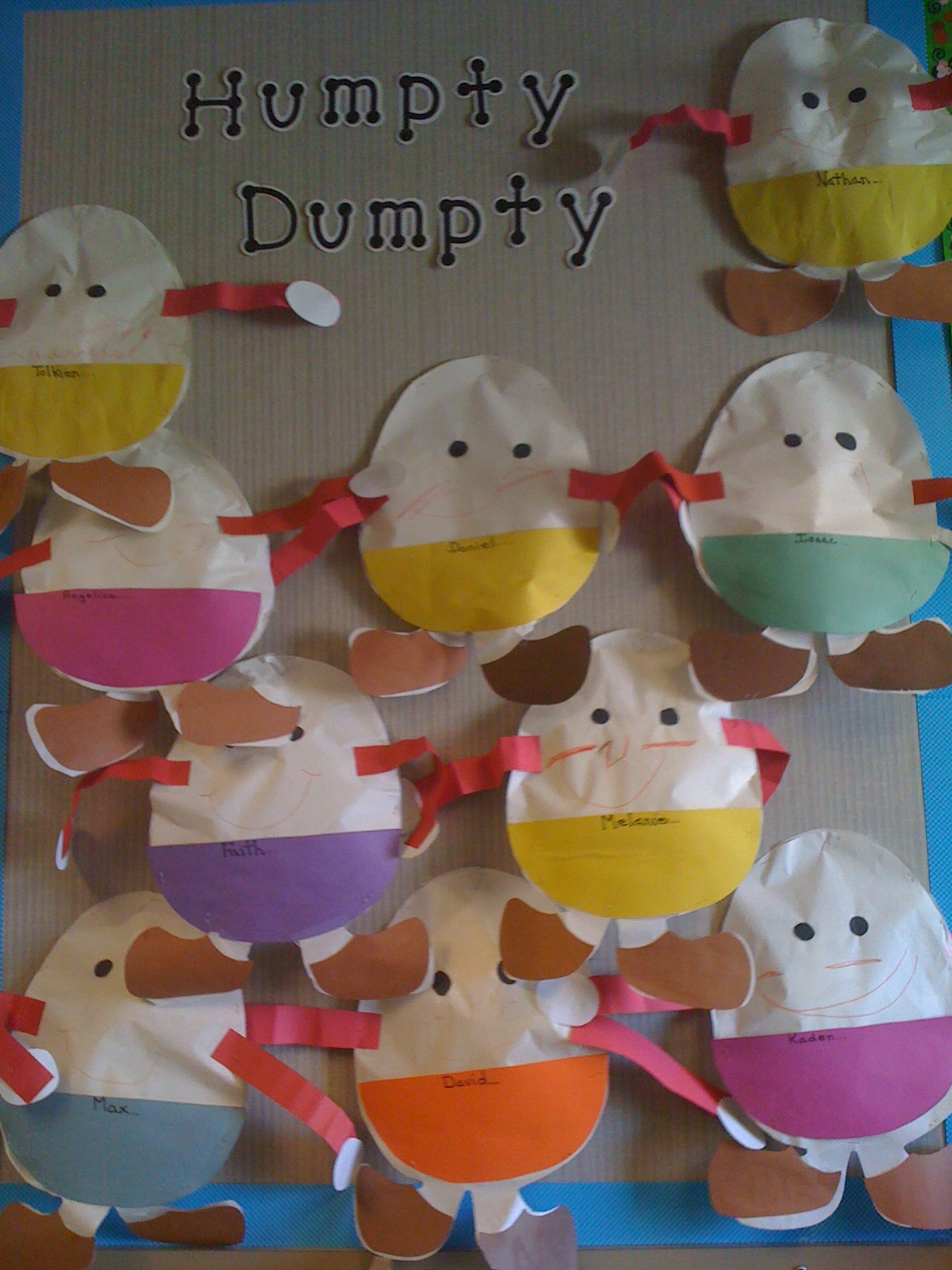 nursery art and craft ideas humpty dumpty sat on a wall mrs kilburn s kiddos 6972