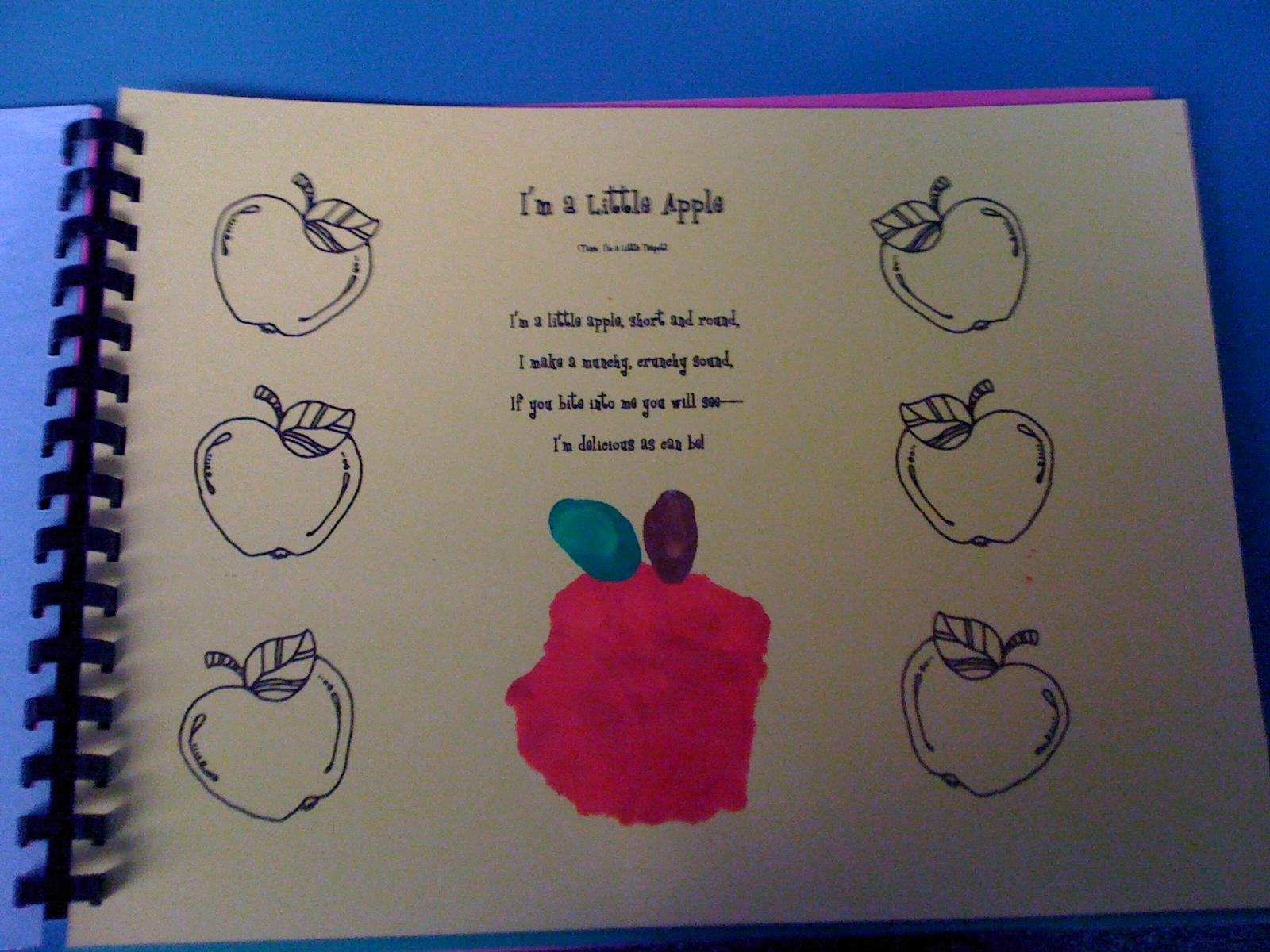 Handprint Art Book