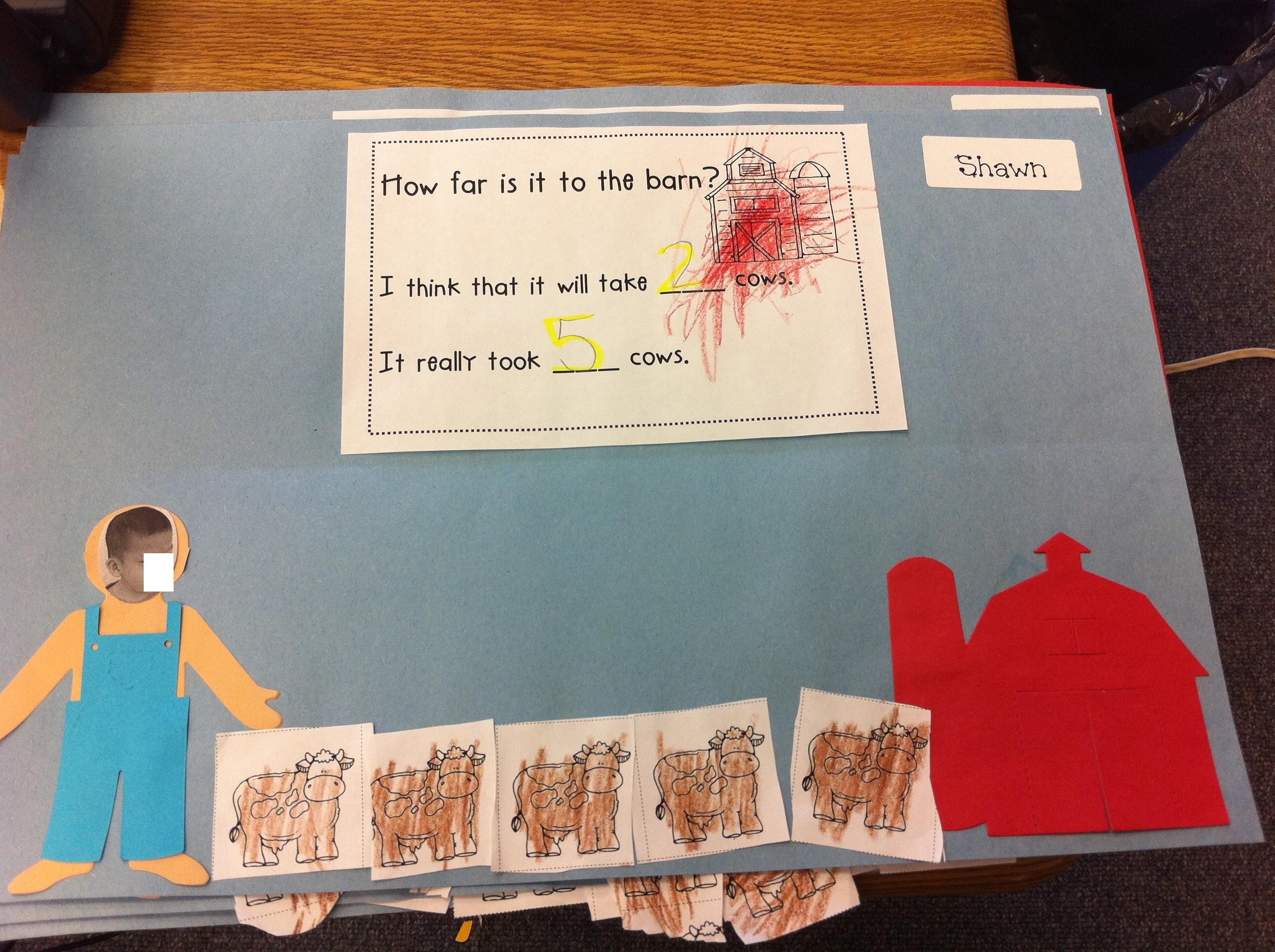 Scrapbook ideas kindergarten - Julie