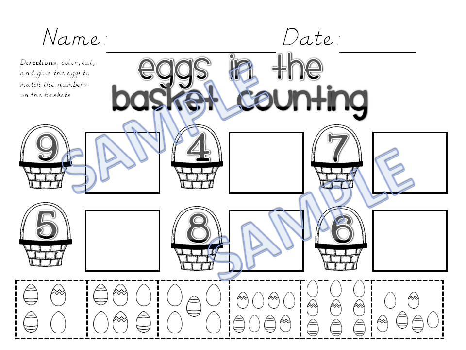 Easter Activities – Mrs. Kilburn\'s Kiddos