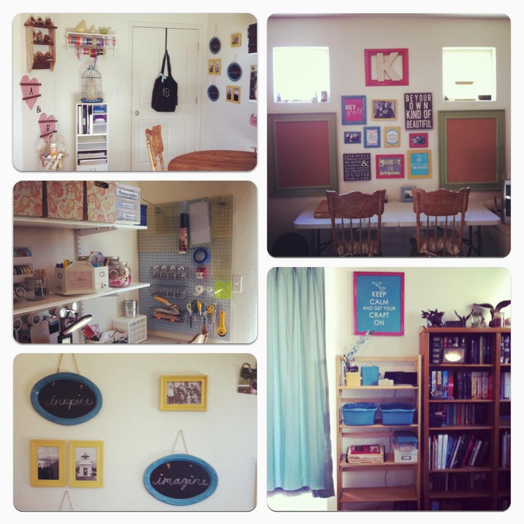 Craft room design pinterest crafts for Diy bedroom ideas pinterest