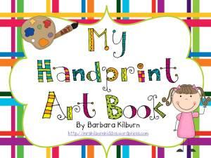 handprint art book cover