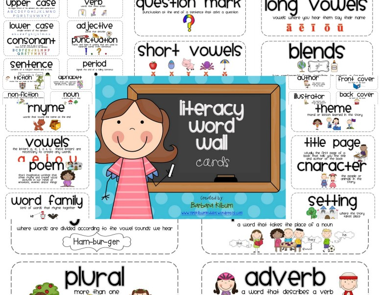 Literacy Word Wall revised