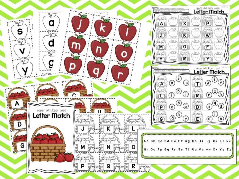 apple picking sample letter match