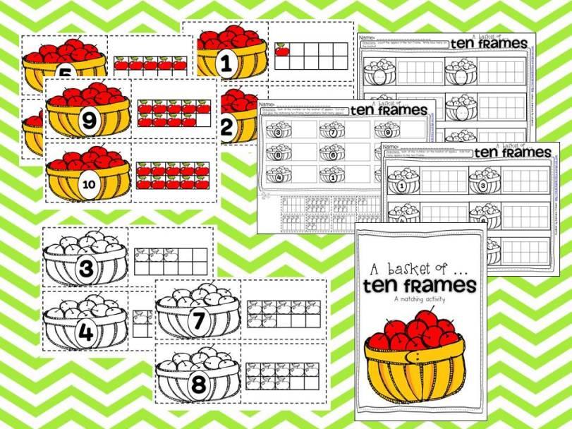 apple picking sample ten frames