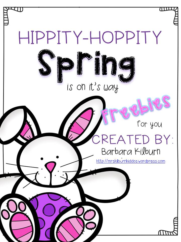hippity hoppity Spring freebies