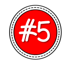 red #5